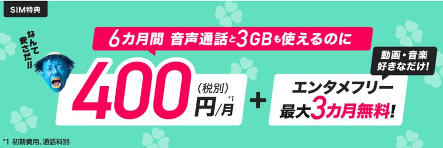 BIGLOBEモバイル キャンペーン 2019年6月30日まで.png